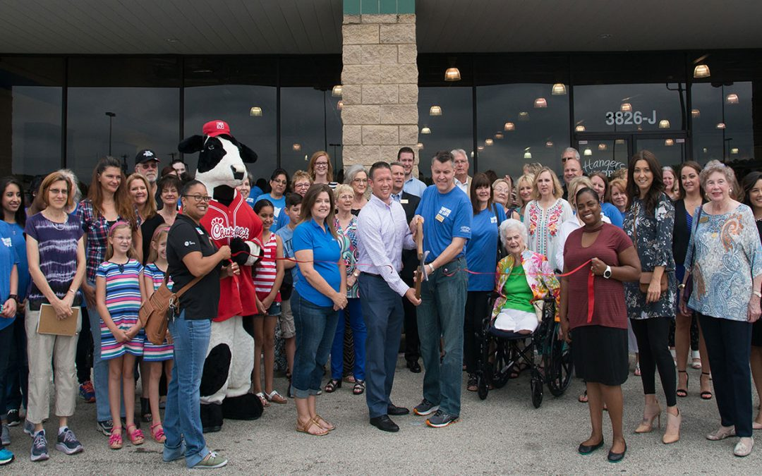 Grand Opening of Hangers of Hope Highland Village