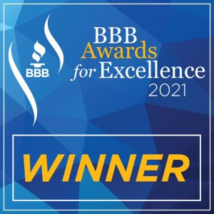 2021 BBB award winner